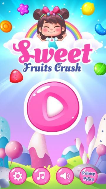 甜甜水果消除手机中文版下载(Sweet Fruits Crush)